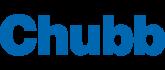 Het logo van een partij waar wij voor werken getiteld chubb