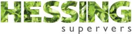 Het logo van een partij waar wij voor werken getiteld hessing