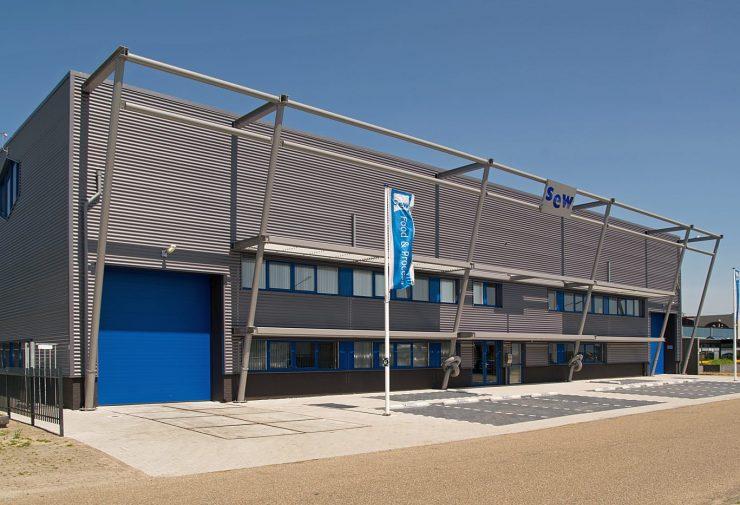 Het pand van MEPROFA in Heerhugowaard. MEPROFA is de nieuwe naam voor SEW Food & Process.
